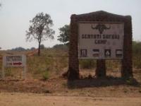 Senyati Marker From Nata-Kazangula Road