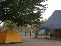 Senyati Campsite Next to the Elephant Highway